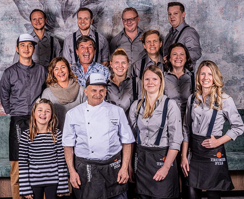 Magistrat Pizzeria Pasteria Team
